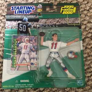 Starting  lineup collectibles Drew Bledsoe 1999